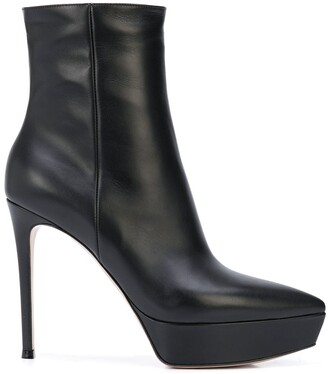 Gianvito Rossi Dasha platform booties