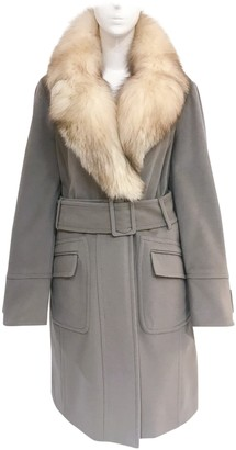 Max & Co. Beige Wool Coat for Women Vintage