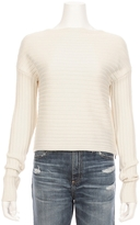 Tibi Ribbed Sweater With Side Zipper Detail