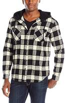 UNIONBAY Men's Classic Flannel Hoodie
