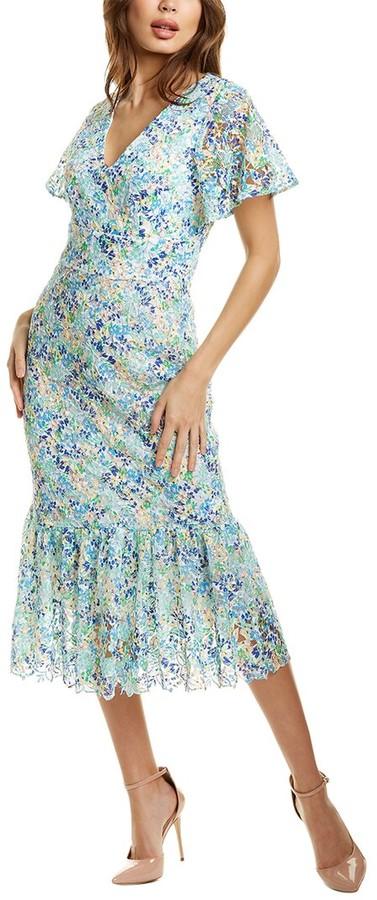Shoshanna Audette Midi Dress