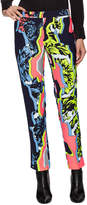 Versace Women's Cropped Tapered Fit Trousers