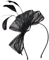 Scala Women's Sinamay Clip Fascinator