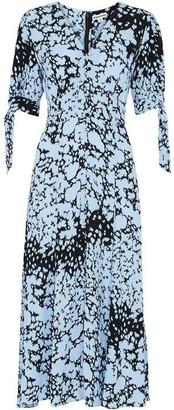 Whistles Brushed Animal Neave Dress