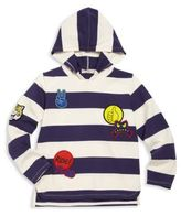 Stella McCartney Toddler's, Little Boy's & Boy's Striped Organic Cotton Hoodie
