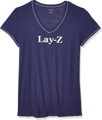 Mae Amazon Brand Women's Sleepwear Graphic Sleep Shirt
