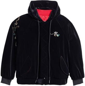 adidas x Angel Chen reversible hooded bomber jacket