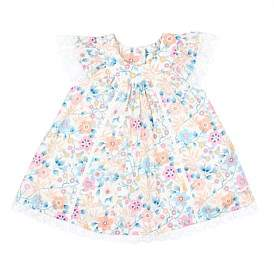 Bebe by Minihaha Liberty Lace Collar Dress (3-24 Months)