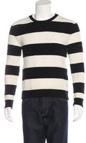 Saint Laurent Wool & Cashmere Striped Sweater