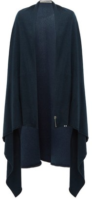Extreme Cashmere - Knitted Stretch-cashmere Cape - Womens - Blue