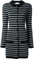 Sonia Rykiel striped long cardigan