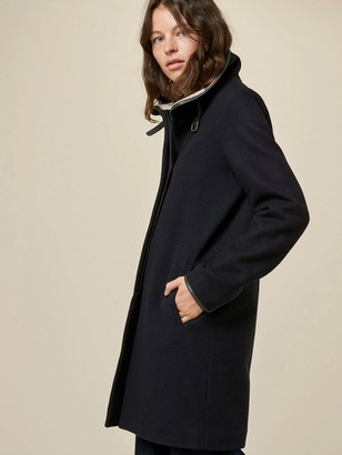 Sessun Nina Coat In Navy - L
