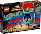 Lego Marvel Super Heroes Thor vs. Hulk Arena Clash