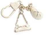 Gucci Hat and Horsebit Clutch Key Chain