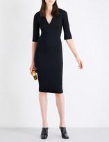 Victoria Beckham V-neck woven dress