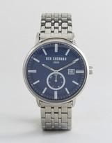 Ben Sherman Wb071usm Bracelet Watch In Silver