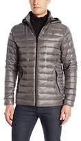 Calvin Klein Men's Packable Down Hooded Coat