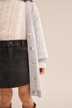 Country Road Button Rib Cardigan