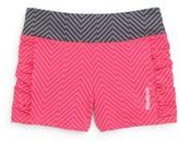 Reebok Girl's Geo-Print Shorts