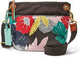 Fossil Keely Floral Cross-Body Bucket Bag