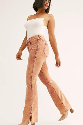 We The Free Crvy Foxy Lady Velvet Bootcut Pants by at Free People Denim