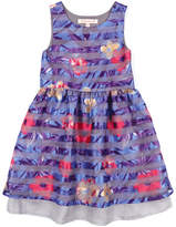 Appaman Girls' Flora Dusk Flower Dress
