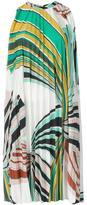 Emilio Pucci geometric print pleated dress - women - Viscose/Polyester - 40