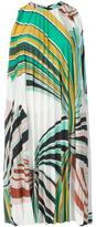 Emilio Pucci geometric print pleated dress - women - Viscose/Polyester - 42