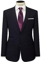 John Lewis Stripe Tailored Fit Suit Jacket, Navy