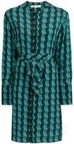 Diane von Furstenberg wavy print dress