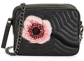 Longchamp Mini Hypnotic Quilted Leather Crossbody Bag