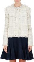 Lanvin Women's Wool-Blend Snap-Front Sweater-WHITE