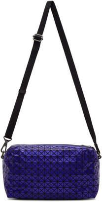Bao Bao Issey Miyake Navy Metallic Saddle Bag