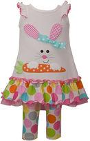 Bonnie Jean Girls 2-pc. Legging Set-Preschool