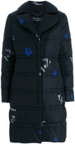 Salvatore Ferragamo printed puffer jacket