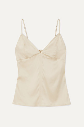 Bottega Veneta Stretch-silk Satin Camisole - Ivory