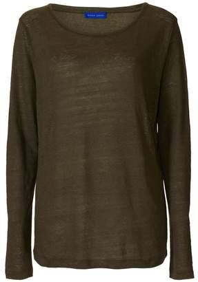 Winser London Linen Long Sleeve T Shirt