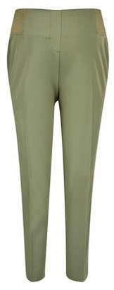Dorothy Perkins Womens Dp Maternity Khaki Under Bump Ankle Grazer Trousers