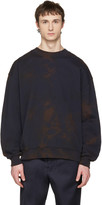 Acne Studios Navy Yana Bleacher Sweatshirt