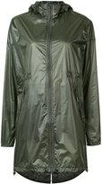 Canada Goose long-length hooded jacket