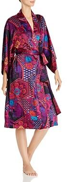 Natori Empress Print Wrap Robe