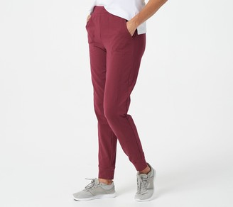 Denim & Co. Active Petite French Terry Joggers