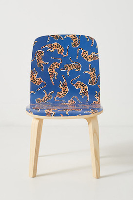 Colloquial Tamsin Kids Chair By 52 Conversations by Anthropologie in Blue