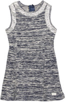 7 For All Mankind Sequined Slub Knit Dress (Little Girls)