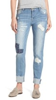 Women's Wit & Wisdom Ripped Girlfriend Jeans