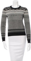 Opening Ceremony Patterned Wool Sweater