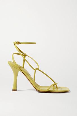 Bottega Veneta Leather Sandals - Yellow