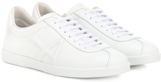 Aquazzura The A leather sneakers