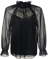 Marc Jacobs lace panel blouse