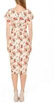 Thumbnail for your product : Alexia Admor Naomi Drape Surplice Neck Sheath Dress